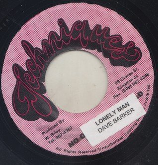 Dave Barker Meet The Upsetters - Lonely Man