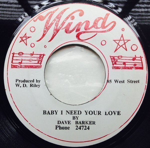 Dave Barker Meet The Upsetters - Love Is A Gamble / Your Love