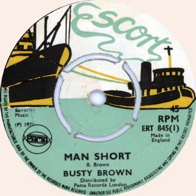 Dave Barker Meet The Upsetters - Man Short / She Want It