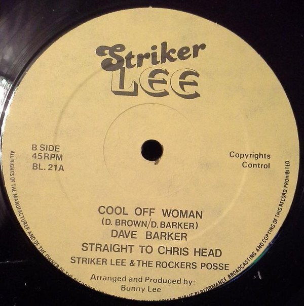 Dave Barker Meet The Upsetters - My Conversation / Cool Off Woman