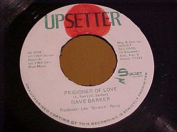 Dave Barker Meet The Upsetters - Prisioner Of Love