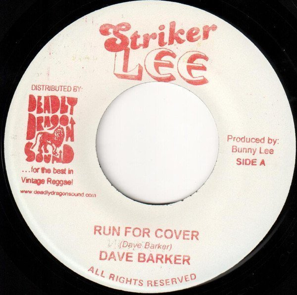 Dave Barker Meet The Upsetters - Run For Cover