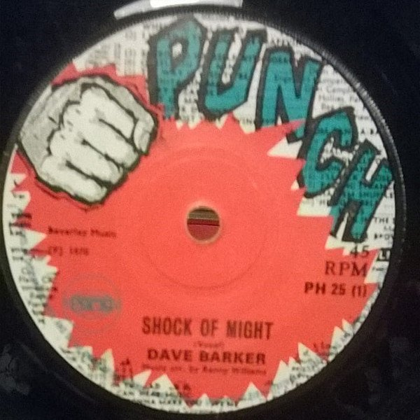 Dave Barker Meet The Upsetters - Shock Of Might