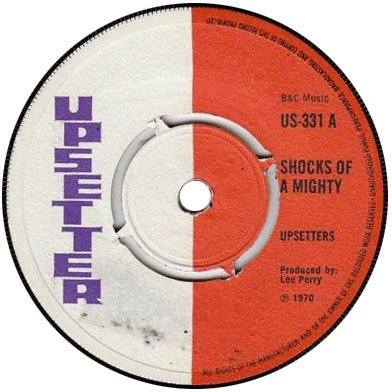Dave Barker Meet The Upsetters - Shocks Of A Mighty / Set Me Free