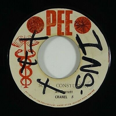 Dave Barker Meet The Upsetters - Soul Constitution / Out Of Love