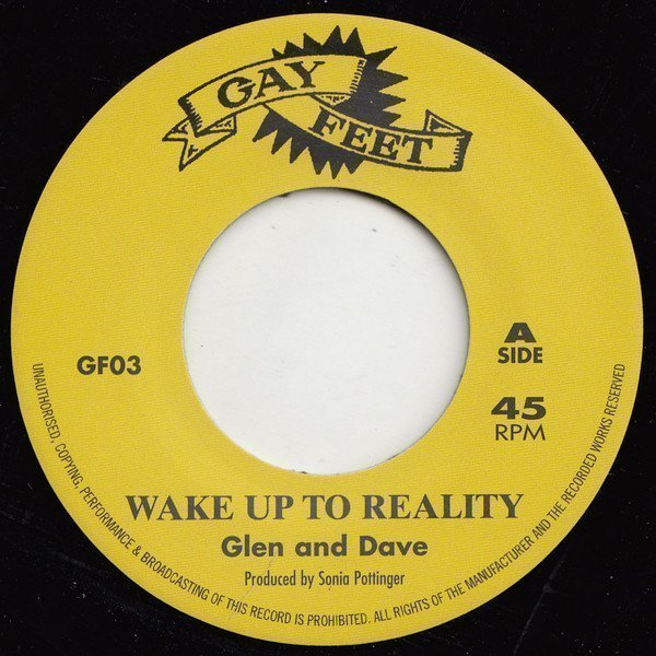 Dave Barker Meet The Upsetters - Wake Up To Reality / Musical Pressure