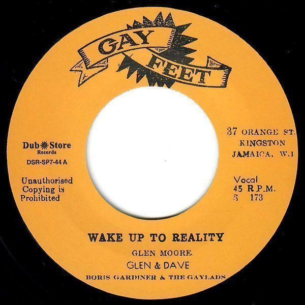 Dave Barker Meet The Upsetters - Wake Up To Reality / Win Your Love