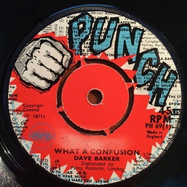 Dave Barker Meet The Upsetters - What A Confusion / Small Axe