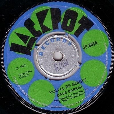Dave Barker Meet The Upsetters - You