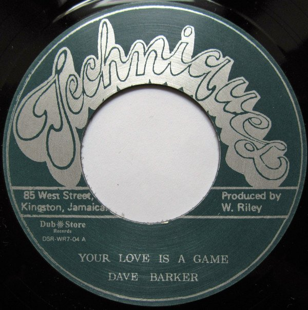 Dave Barker Meet The Upsetters - Your Love Is A Game / Lonely Man