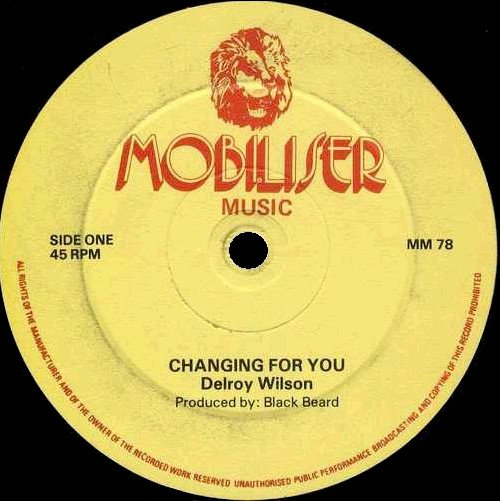 Delroy Wilson - Changing For You