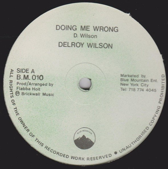 Delroy Wilson - Doing Me Wrong