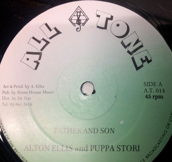 Delroy Wilson - Father And Son / Can