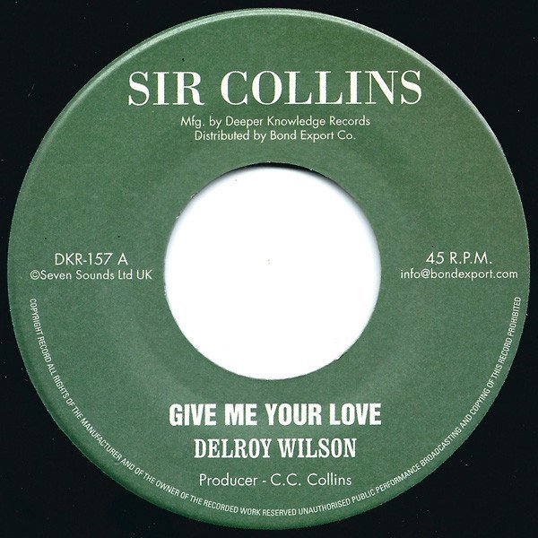 Delroy Wilson - Give Me Your Love