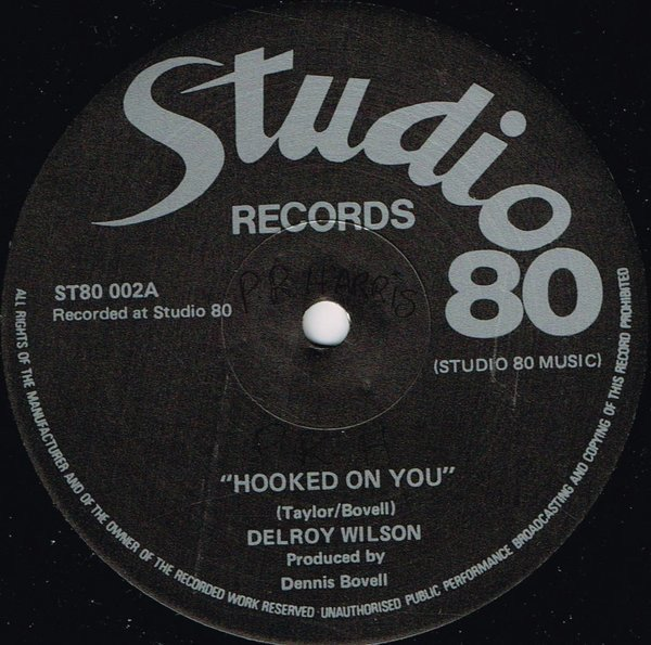 Delroy Wilson - Hooked On You