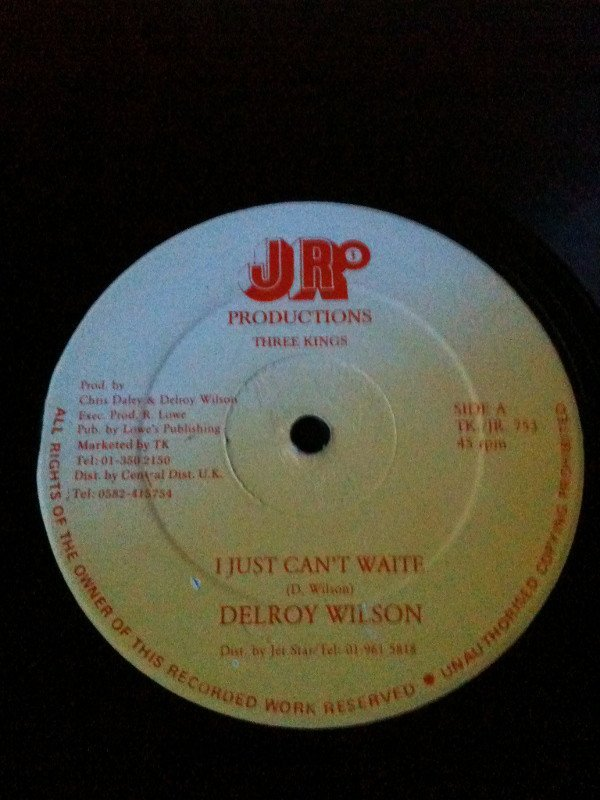 Delroy Wilson - I Just Can