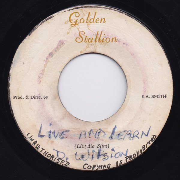 Delroy Wilson - Live And Learn / Quattie Buy Trouble