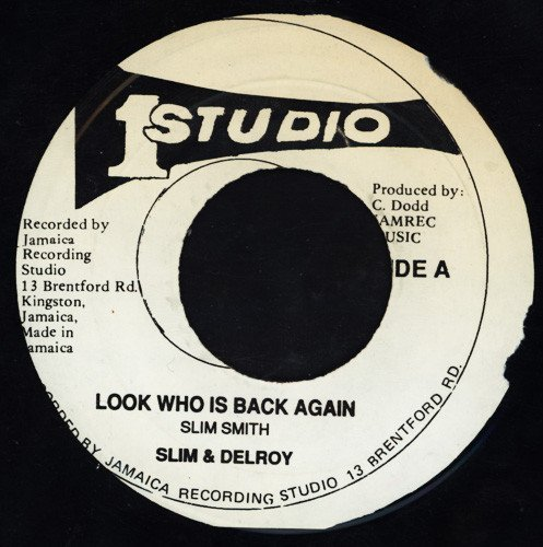 Delroy Wilson - Look Who Is Back Again / Free Soul