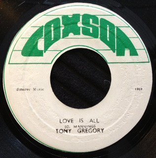 Delroy Wilson - Love Is All / I
