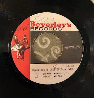 Delroy Wilson - Loving You Is Sweeter Than Ever