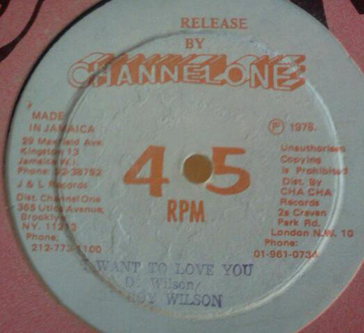 Delroy Wilson - Money Love / I Want To Love You