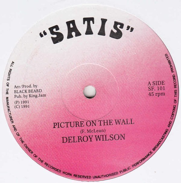 Delroy Wilson - Picture On The Wall
