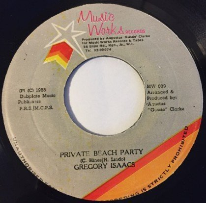Delroy Wilson - Private Beach Party / Dancing Mood