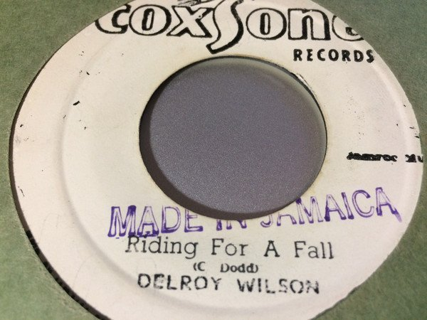 Delroy Wilson - Riding For A Fall / Cool Breeze