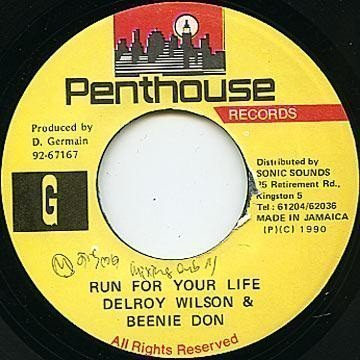 Delroy Wilson - Run For Your Life