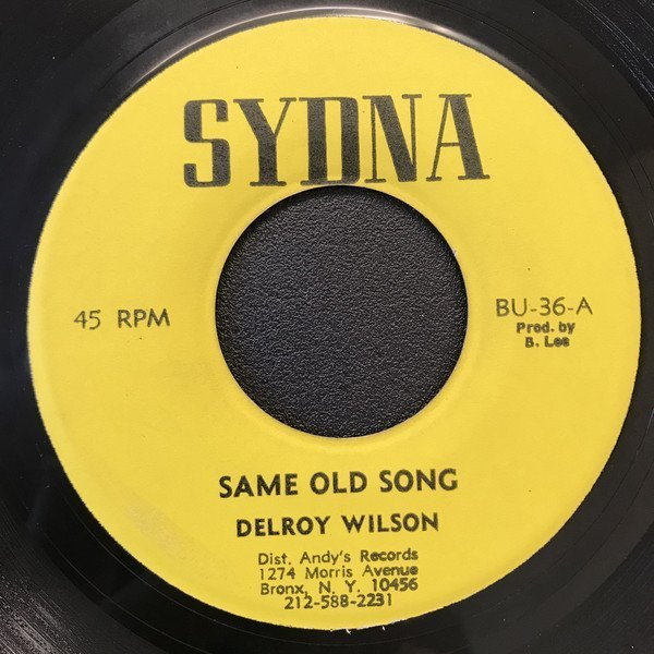 Delroy Wilson - Same Old Song