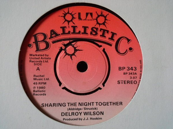 Delroy Wilson - Sharing The Night Together