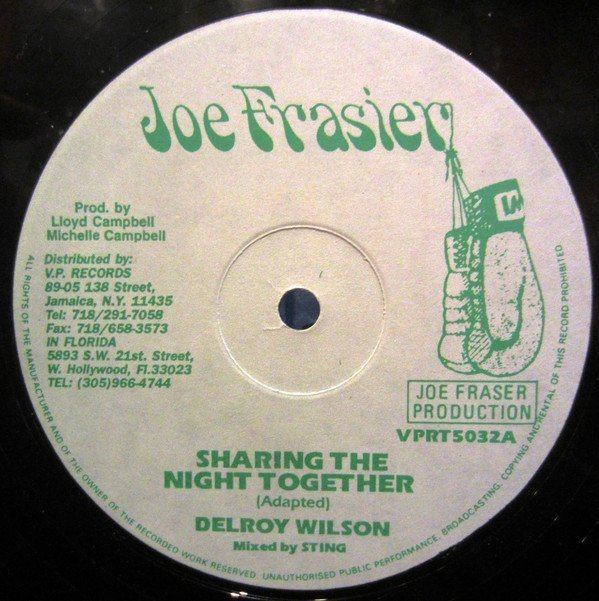 Delroy Wilson - Sharing The Night Together / Night Move