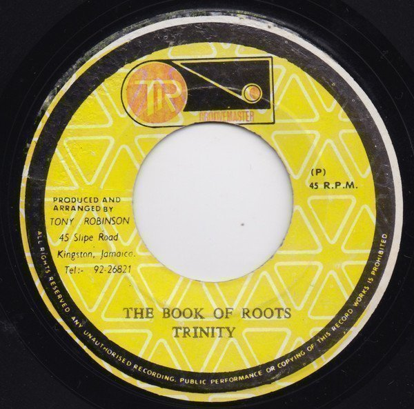 Delroy Wilson - The Book Of Roots / Roots Version