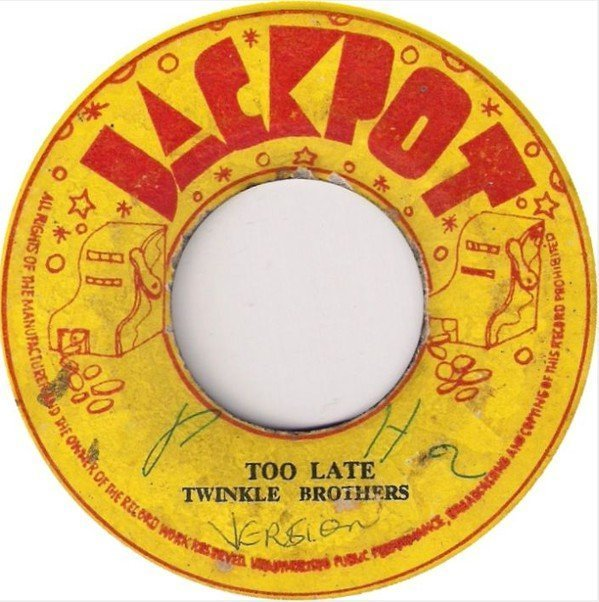 Delroy Wilson - Too Late / Can