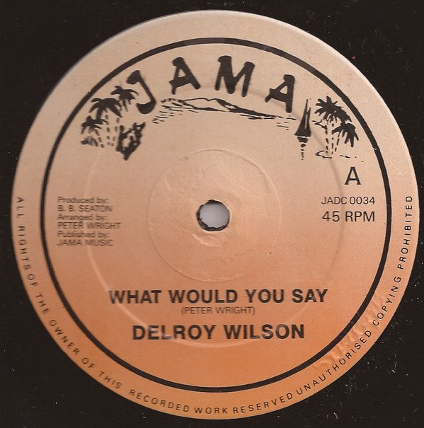 Delroy Wilson - What Would You Say / We Were Too Young