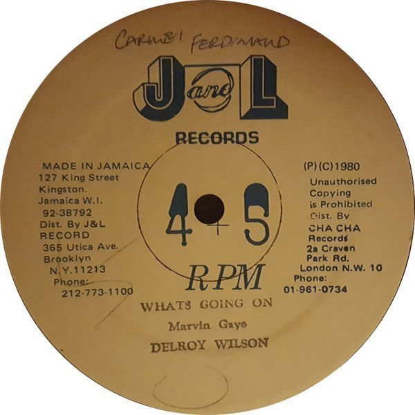 Delroy Wilson - Whats Going On / Love To See You Smile