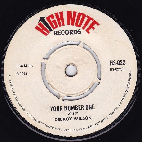Delroy Wilson - Your Number One
