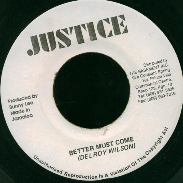 Dennis Alcapone - Better Must Come / It Must Come