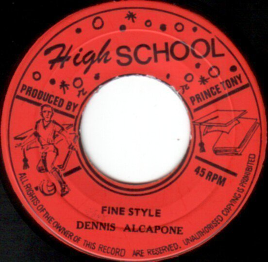 Dennis Alcapone - Fine Style / On The Track