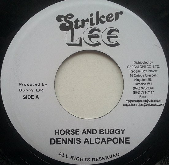 Dennis Alcapone - Horse And Buggy / Pablo