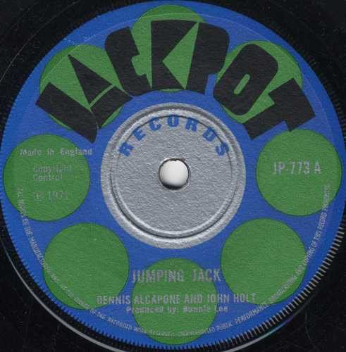 Dennis Alcapone - Jumping Jack / King Of The Track
