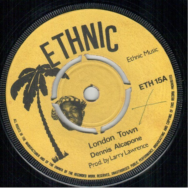 Dennis Alcapone - London Town / Shabby Attack