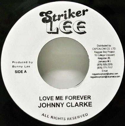 Dennis Alcapone - Love Me Forever / Rock Them Capone