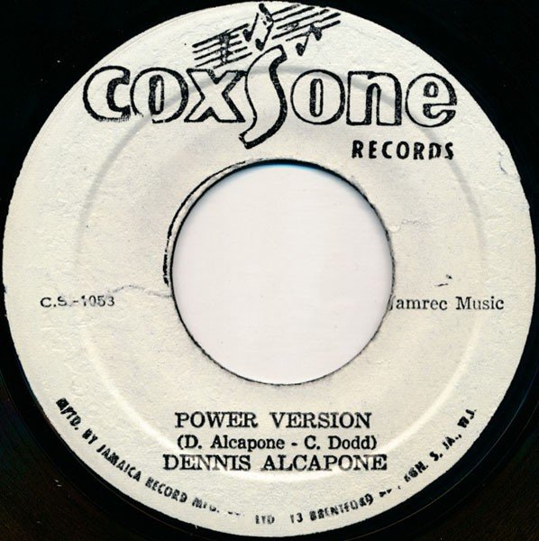 Dennis Alcapone - Power Version / Leave Earth