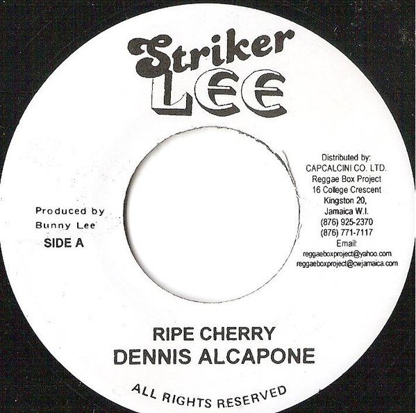 Dennis Alcapone - Ripe Cherry / Know Your Friend