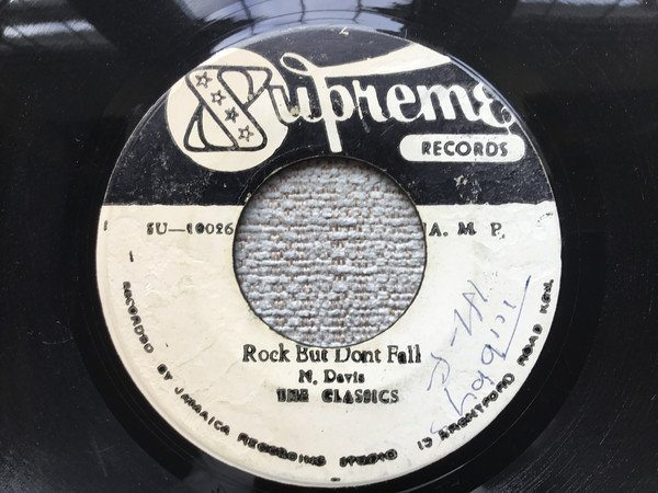 Dennis Alcapone - Rock But Dont Fall / Love Me Version