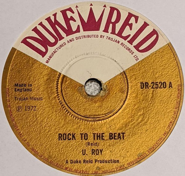 Dennis Alcapone - Rock To The Beat / Love Is Not A Gamble