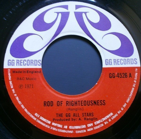 Dennis Alcapone - Rod Of Righteousness / Kings Of Kings
