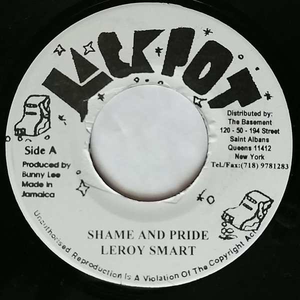 Dennis Alcapone - Shame And Pride / Six Million Dollar Man