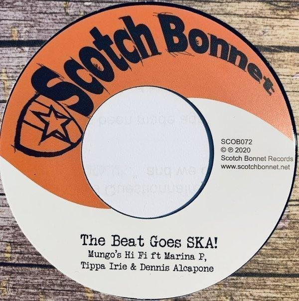Dennis Alcapone - The Beat Goes SKA!